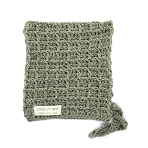 knitted cotton washcloths | Aloe Ferox Skin Products